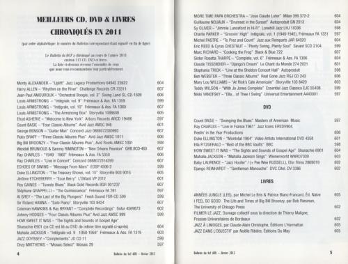 CDS  DVDS,Hot Club De France
